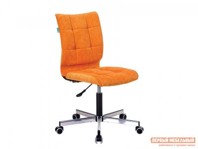 Офисное кресло  CH-330M Оранжевый, вельвет Бюрократ. Цвет: оранжевый