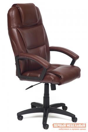 Кресло руководителя  Bergamo Иск. кожа коричневая 2 TONE Tetchair. Цвет: коричневый