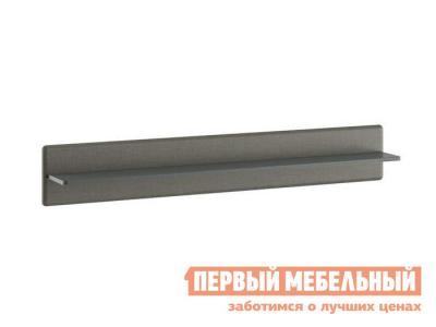Настенная полка  ТД-208.03.21 Фон серый / Джут ТриЯ. Цвет: серый