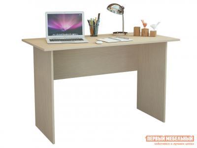 Компьютерный стол  Милан-126 Дуб молочный МФ Мастер. Цвет: светлое дерево