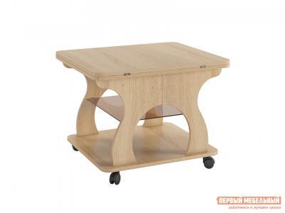Журнальный столик  Купер Дуб Сонома МебельСон. Цвет: светлое дерево
