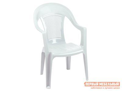 Пластиковый стул  Фламинго Белый, пластик Элластик Пласт. Цвет: белый