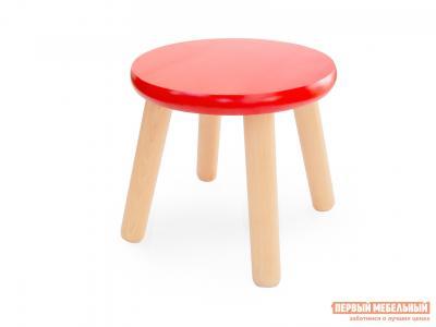 Столик и стульчик  Табурет детский Ольха / Красный Боровичи. Цвет: красный