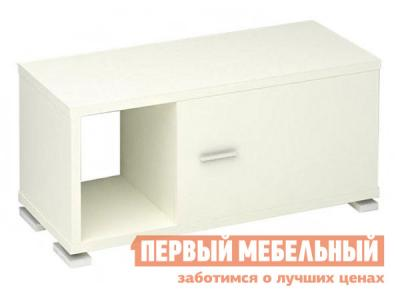 Стеллаж  СБ-50 Белый жемчуг, 1 модуль (высота 405 мм) Мэрдэс. Цвет: белый