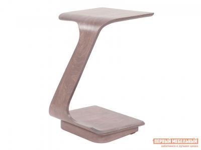 Журнальный столик  Стол приставной Неро Шимо Мебелик. Цвет: коричневое дерево