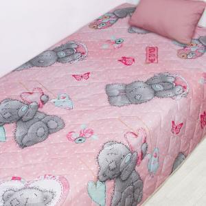 Покрывала, подушки, одеяла для малышей Mona Liza. Цвет: розовый