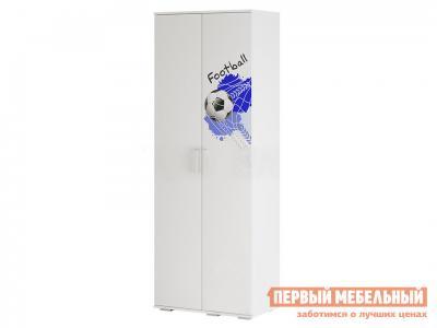 Шкаф детский  Трио для одежды ШК-09 Белый, король спорта BTS. Цвет: белый