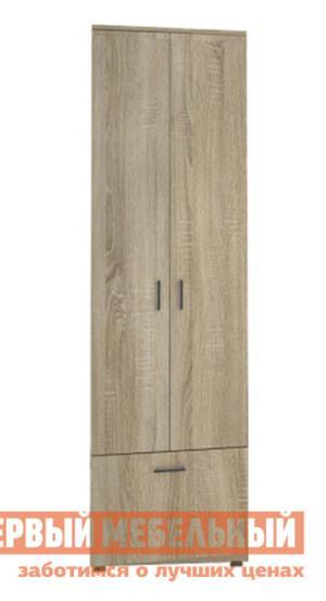 Распашной шкаф  Сальмиро 2 Дуб Сонома НКМ. Цвет: светлое дерево