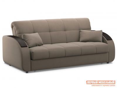 Прямой диван  Уильям / Люкс Латте, велюр , 180х200 см, Независимый пружинный блок Живые диваны. Цвет: бежевый