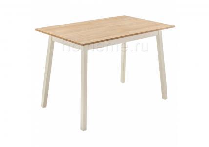 Стол деревянный Ланс 110 дуб / кремовый 302728 (15319) HomeMe
