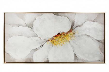 Репродукция в раме Цветок Hoff