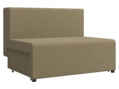 Прямой диван  Умка Бежевый, рогожка Столлайн. Цвет: коричневый