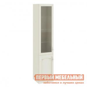 Шкаф-витрина  Лючия ТД-235.07.25 Шкаф для посуды Штрихлак ТриЯ. Цвет: бежевый