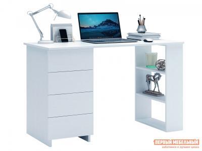 Письменный стол  Уно-5 Белый МФ Мастер. Цвет: белый