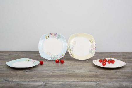 Набор тарелок 22х22 см Allium Hoff