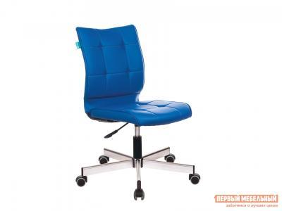 Офисное кресло  CH-330M Синяя иск. кожа OR-03 Бюрократ. Цвет: синий