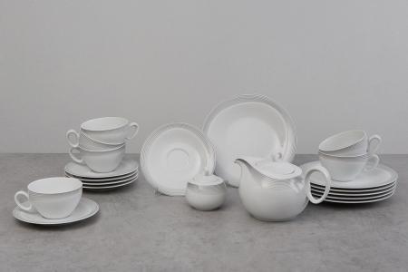 Чайный сервиз на 6 персон Трио Seltmann Weiden