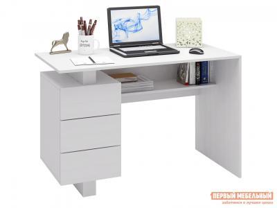Письменный стол  Ренцо-2 Белый МФ Мастер. Цвет: белый