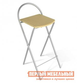 Барный стул  SHT-S61 Бук / Ал. металлик Sheffilton. Цвет: светлое дерево