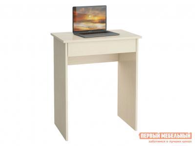 Письменный стол  Милан-64Я Дуб молочный МФ Мастер. Цвет: светлое дерево