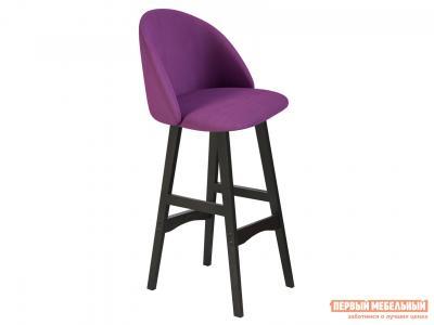 Барный стул  SHT-ST35/S65 Ягодное варенье, микровелюр / Венге, массив бука Sheffilton. Цвет: фиолетовый