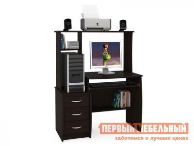 Компьютерный стол  Комфорт 5 СКР Венге Магия Моби. Цвет: коричневый