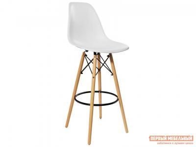 Барный стул  EAMES 8056H Белый STOOL GROUP. Цвет: белый