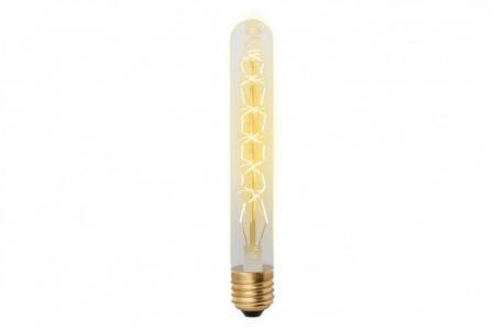 Лампа накаливания 60W Vintage Uniel. Цвет: золотой