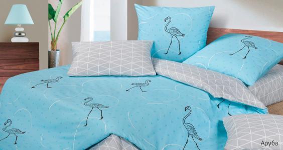 Комплекты постельного белья Ecotex. Цвет: голубой