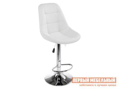 Барный стул  1385 EAMES Белый, экокожа / Хром Лайфмебель. Цвет: белый