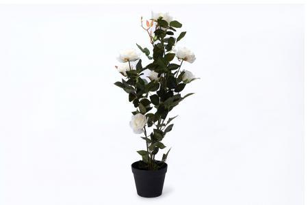 Искусственное растение в горшке Роза Hoff