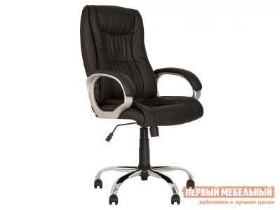 Кресло руководителя  ELLY TILT CHR68 ECO-30, экокожа NOWYSTYL. Цвет: черный