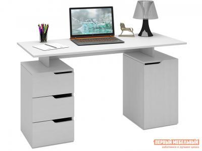 Письменный стол  Нейт-3 Белый МФ Мастер. Цвет: белый