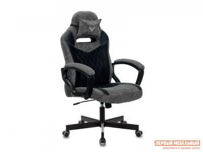 Игровое кресло  VIKING 6 KNIGHT Черный, ткань/экокожа Бюрократ. Цвет: черный