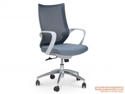 Офисное кресло  CH-193B Серый, сетка / ткань Норден. Цвет: серый