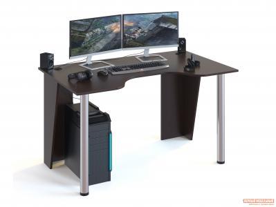 Компьютерный стол  КСТ-18 Венге Сокол. Цвет: венге