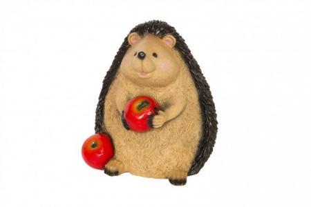 Декоративная фигурка Ежик с яблоком Hoff