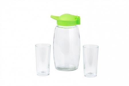 Набор кувшин + стаканы Hoff