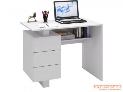 Письменный стол  Ренцо-1 Белый МФ Мастер. Цвет: белый