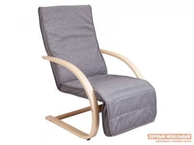 Кресло-качалка  Кресло для отдыха GRAND Темно-серый, ткань / Береза Sedia. Цвет: серый
