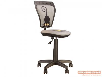 Детское компьютерное кресло  MINISTYLE GTS RU CAT GREY NOWYSTYL. Цвет: серый