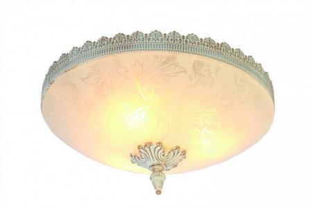 Светильник потолочный Crown ARTE LAMP. Цвет: белый, золотой